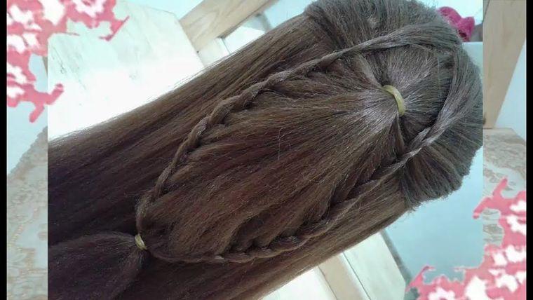 peinados faciles paso a paso caida