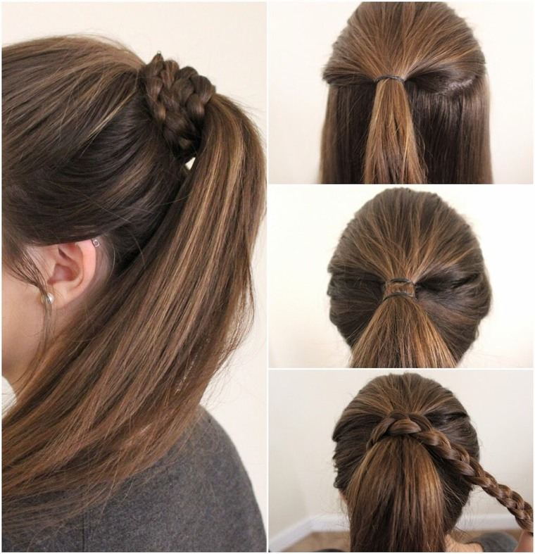 peinados faciles paso a paso clasico