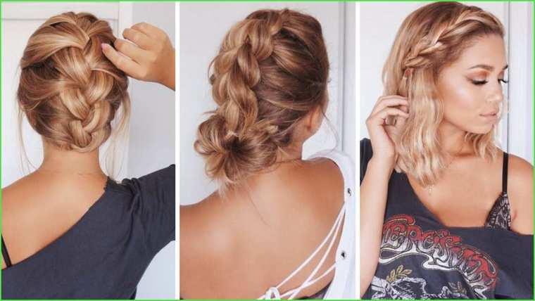 peinados faciles paso a paso diferente