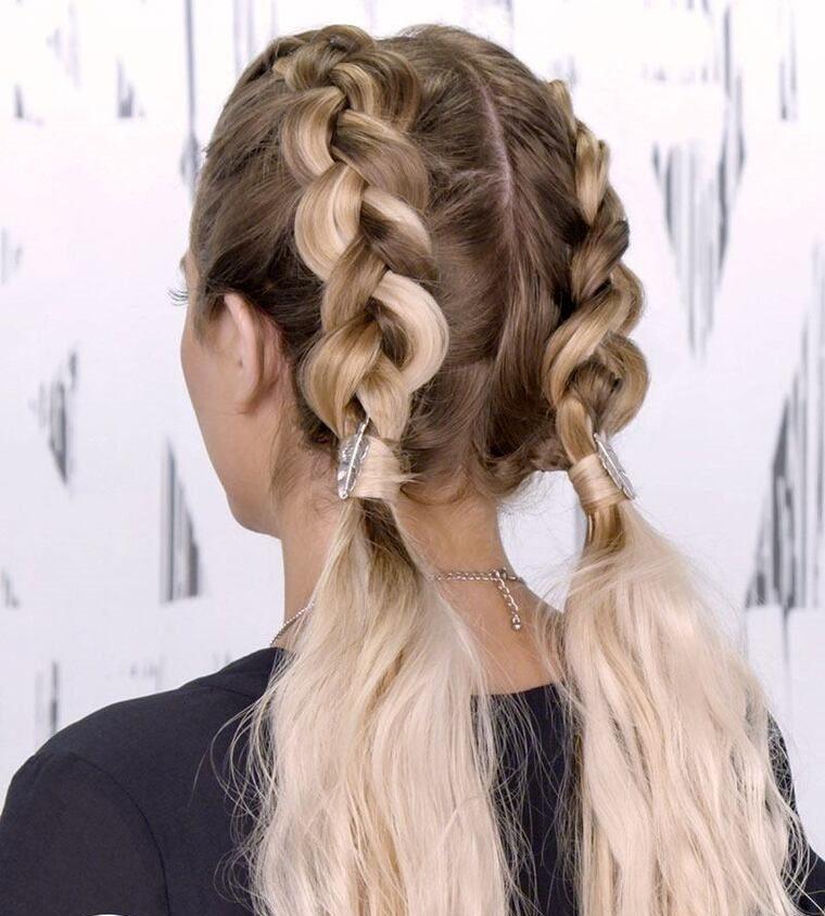 peinados fáciles paso a paso dobles