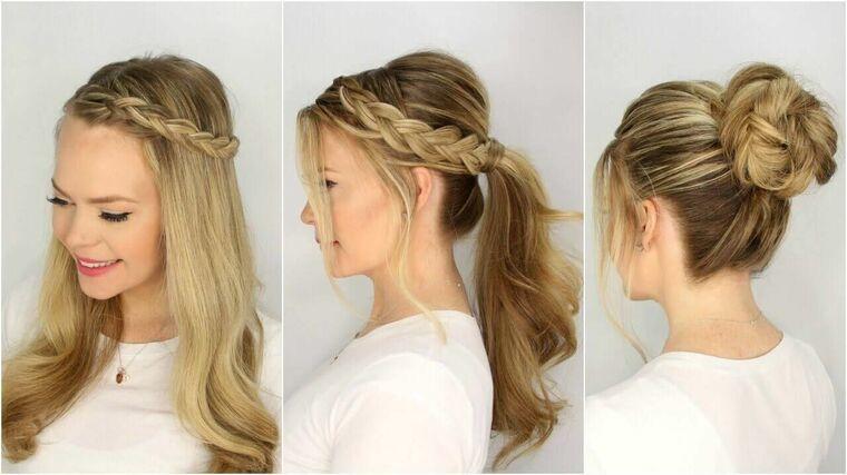 peinados faciles paso a paso lindo