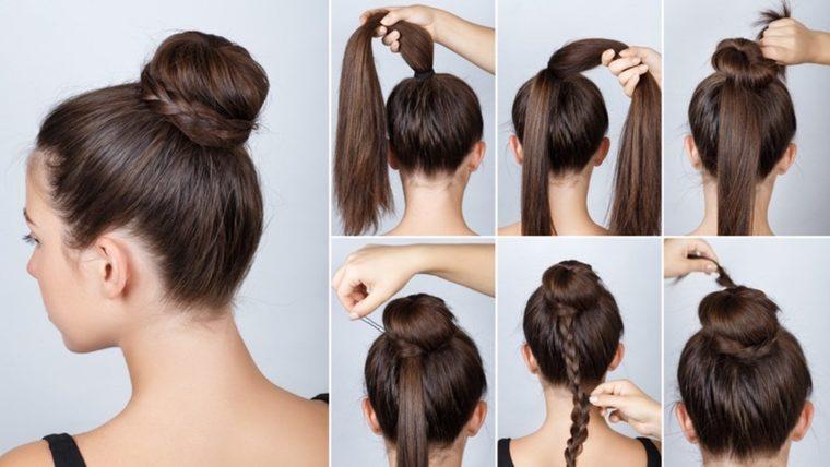 peinados faciles paso a paso mezcla