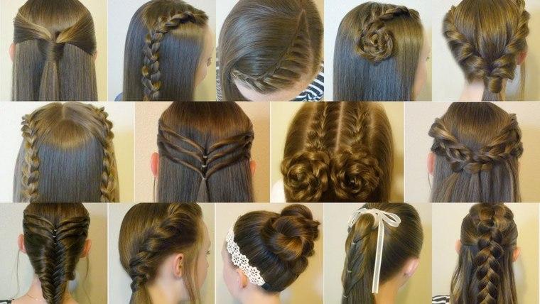 peinados faciles paso a paso pasos