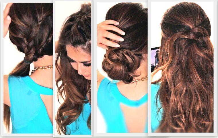 peinados faciles paso a paso variedad