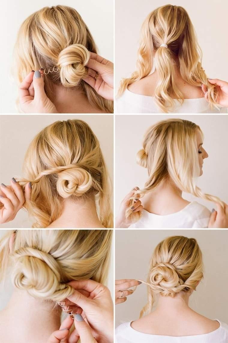 peinados faciles paso a paso versatil