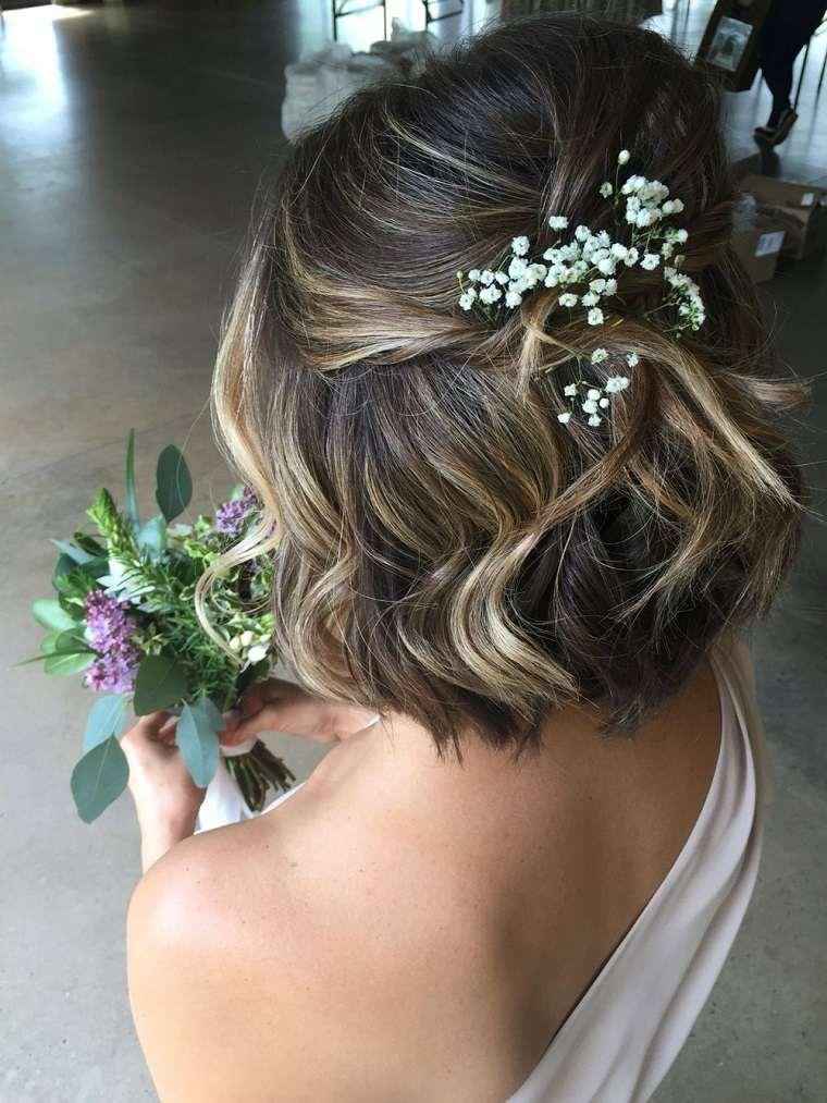 peinados pelo corto natural estilo