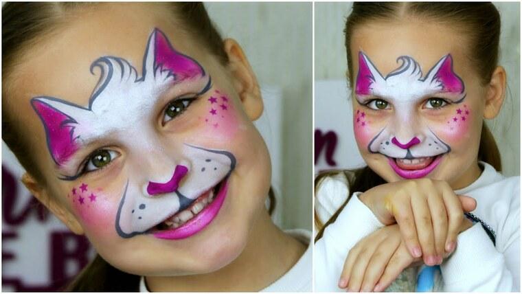 pintacaras infantil cat