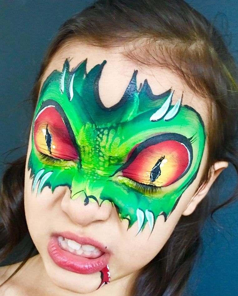 pintacaras infantil dragonaa