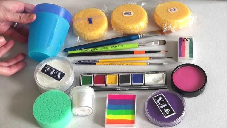 pintacaras infantil kit
