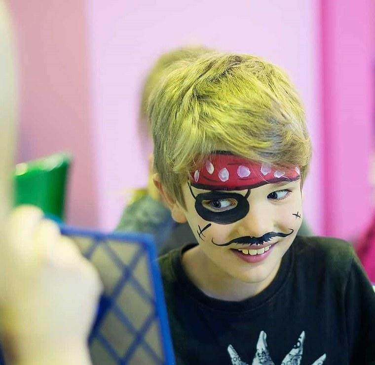 pintacaras infantil pirata