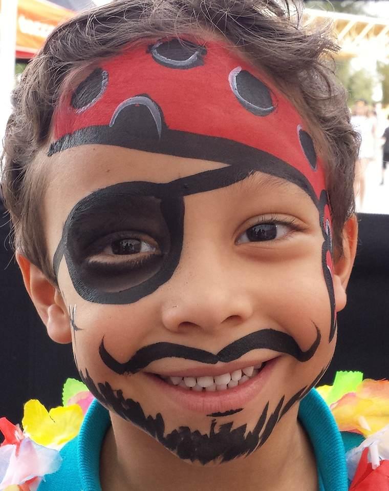pintacaras infantil pirataa