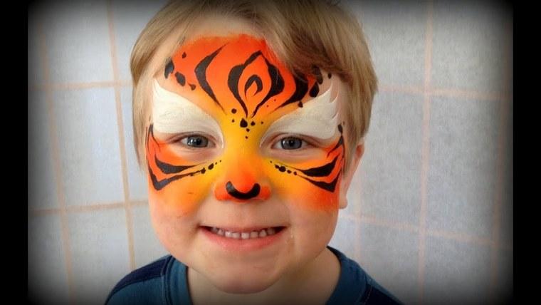pintacaras infantil tigree