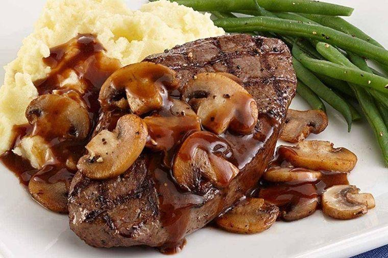 recetas para cena romantica carne