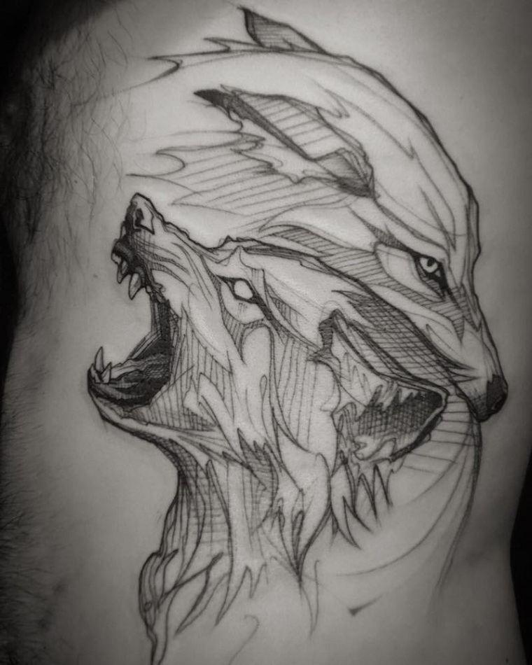 significado-de-tatuajes-de-lobos-Loiseau