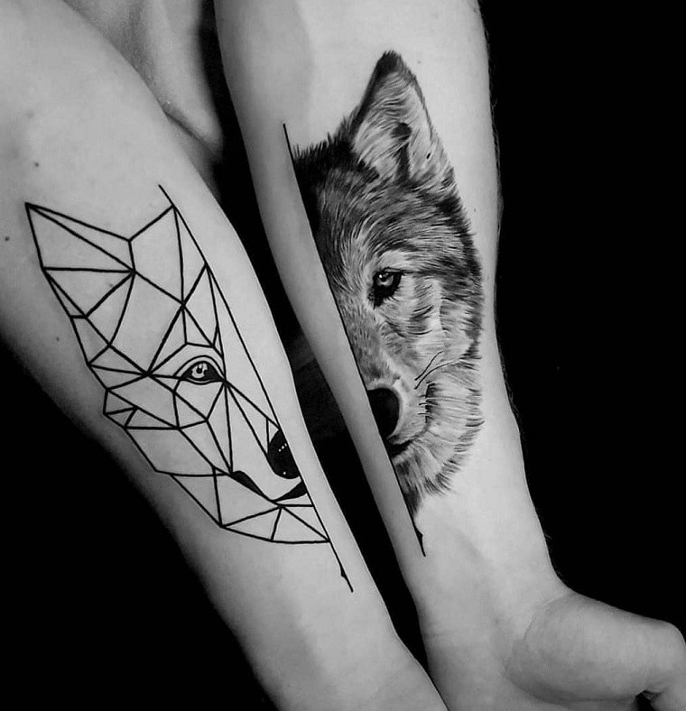 tatuaje-lobo-dos-mano-ideas
