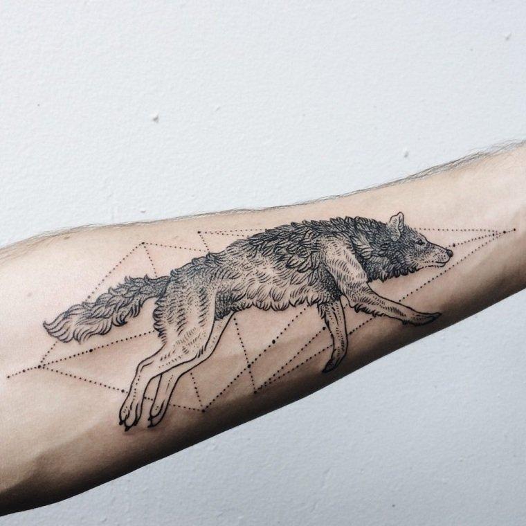 tatuaje-lobo-puntos-opciones-ideas