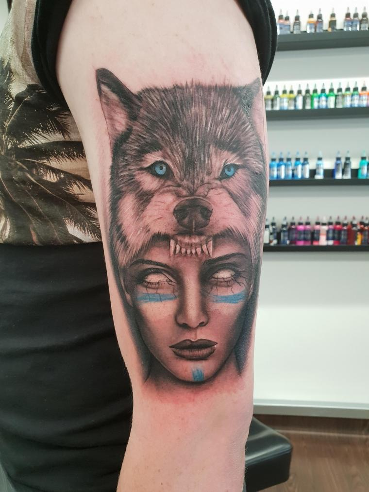 tatuaje-original-lobo-ideas