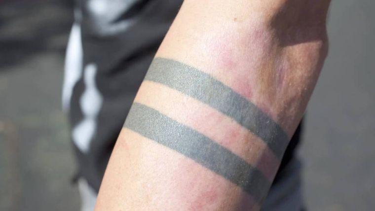 tatuajes de lineas dobles