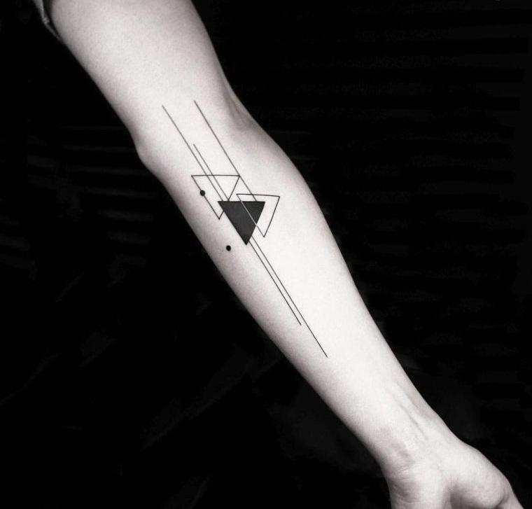 tatuajes de lineas minimalistas