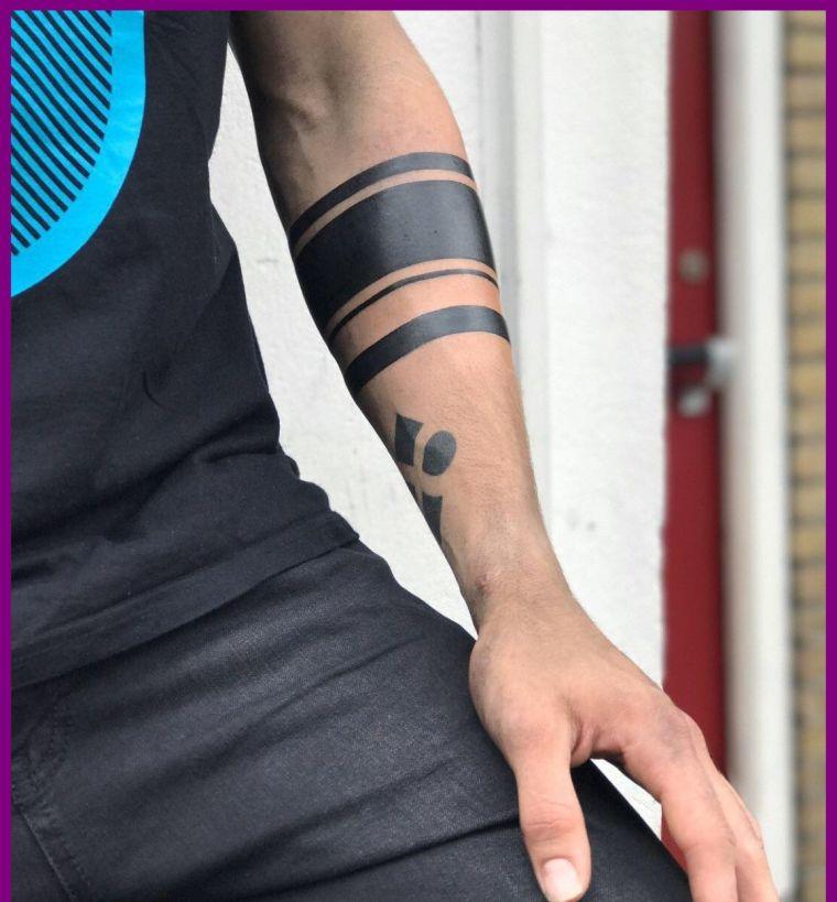 tatuajes de lineas tamaños