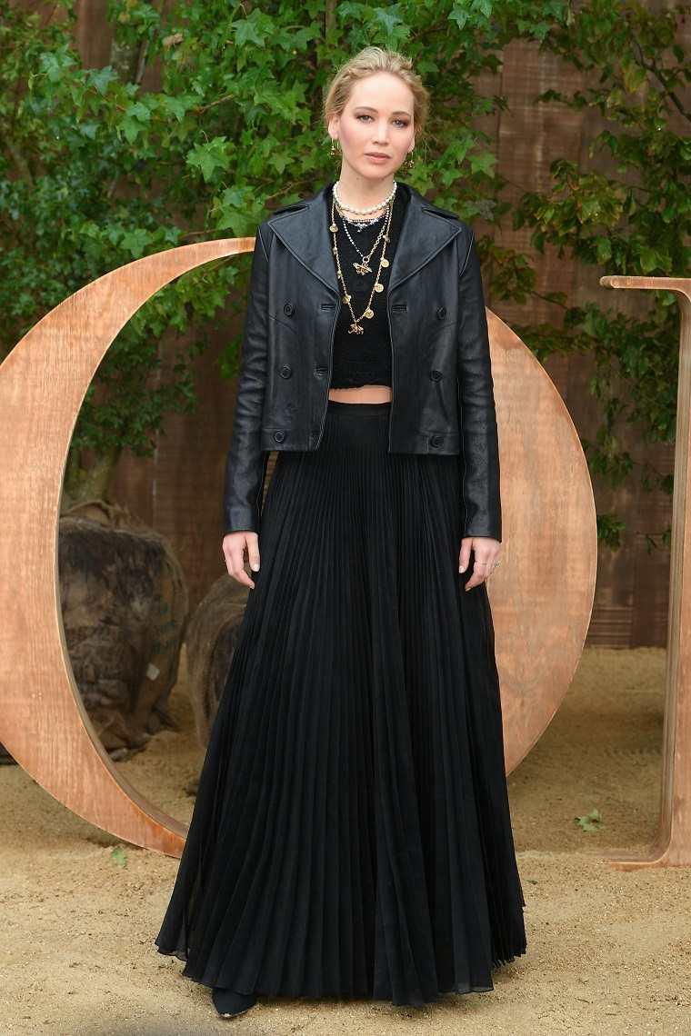tendencias más importantes faldas-largas-2019-otono