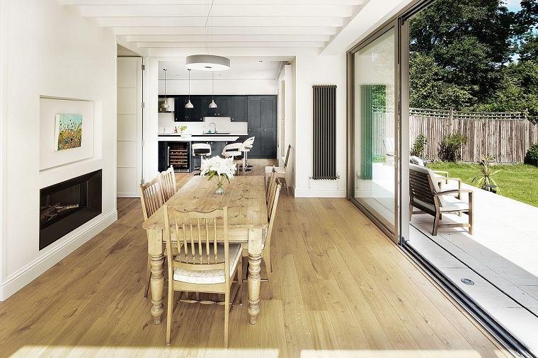textura de madera entradas casa