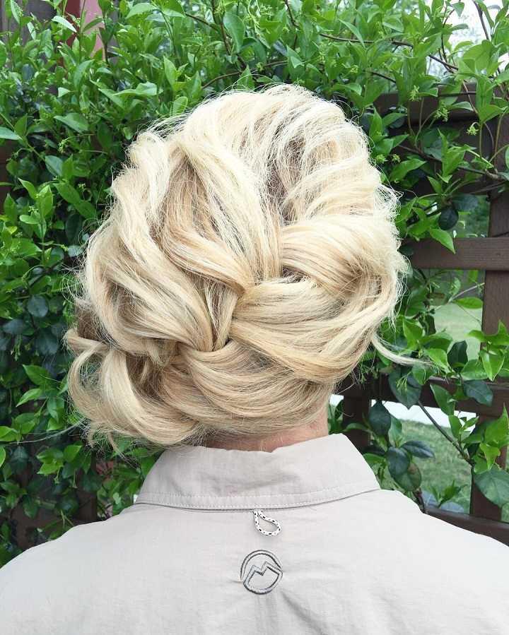 variante pelo trenzado peinados melena corta