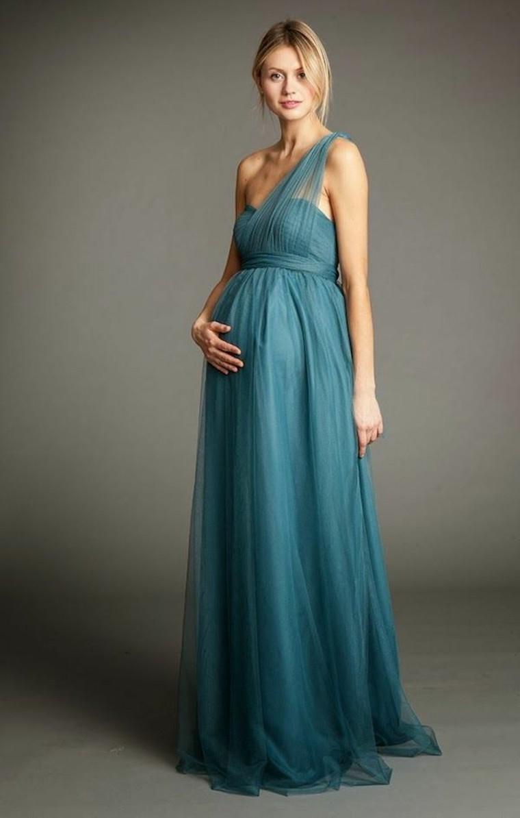 Hermoso vestido de corte imperio con tela de gasa