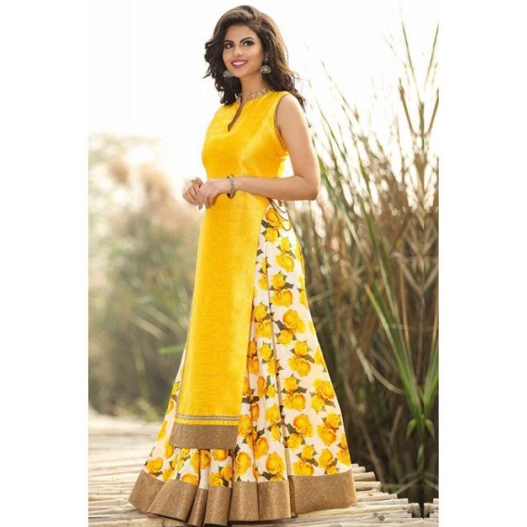 vestidos amarillo
