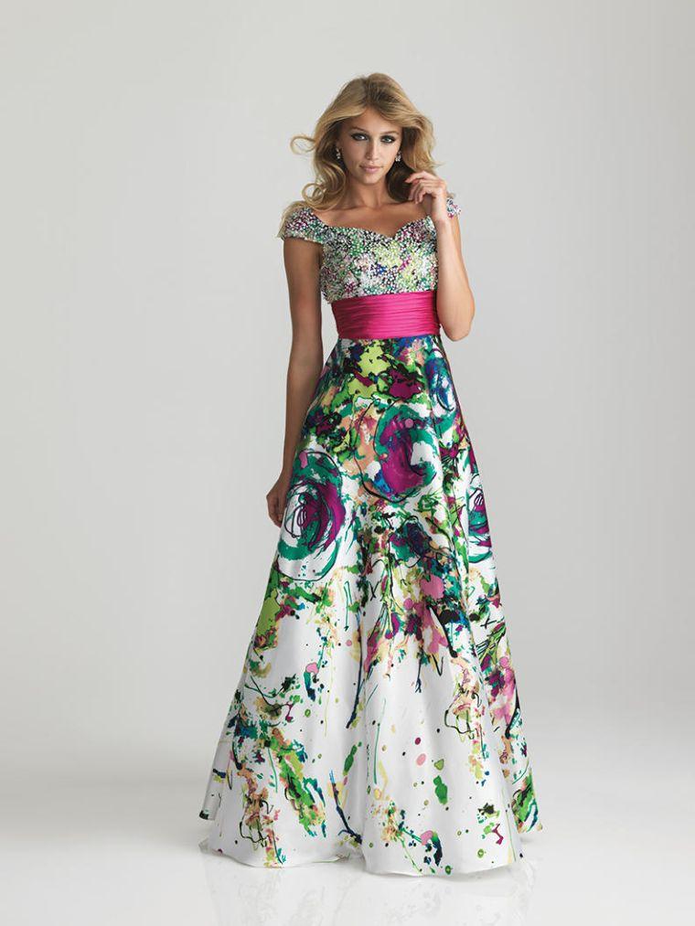 vestidos colores