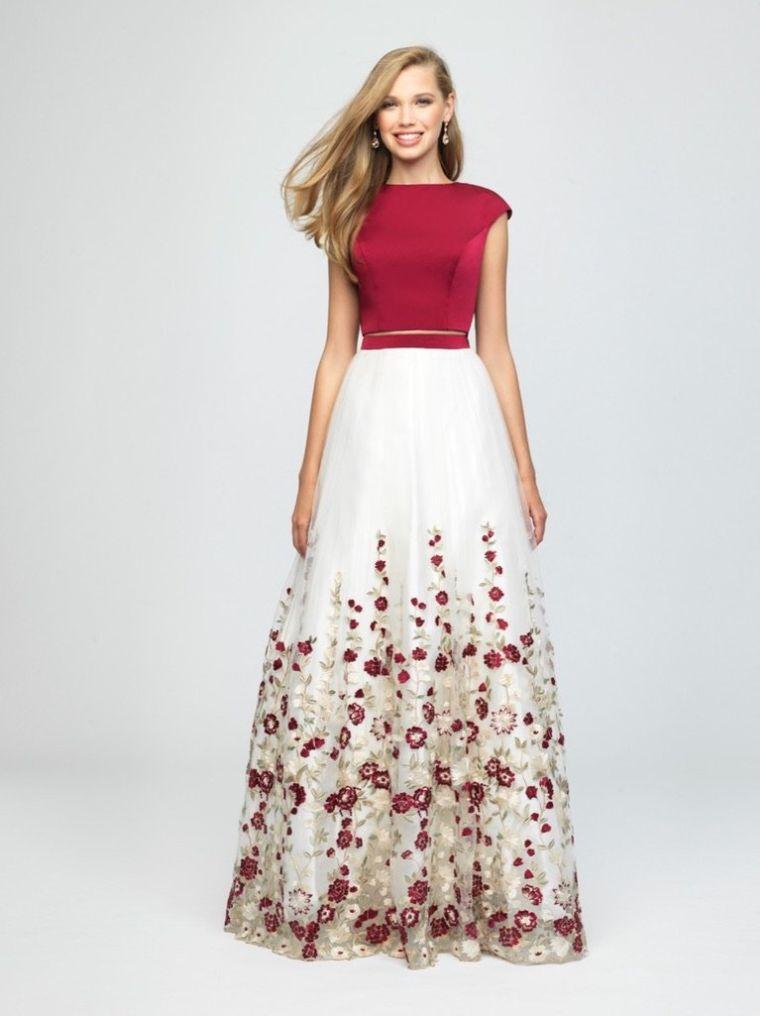vestidos combinado