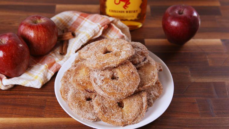aperitivos para navidad manzana