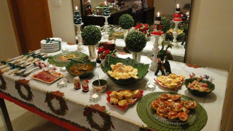 aperitivos para navidad mesa
