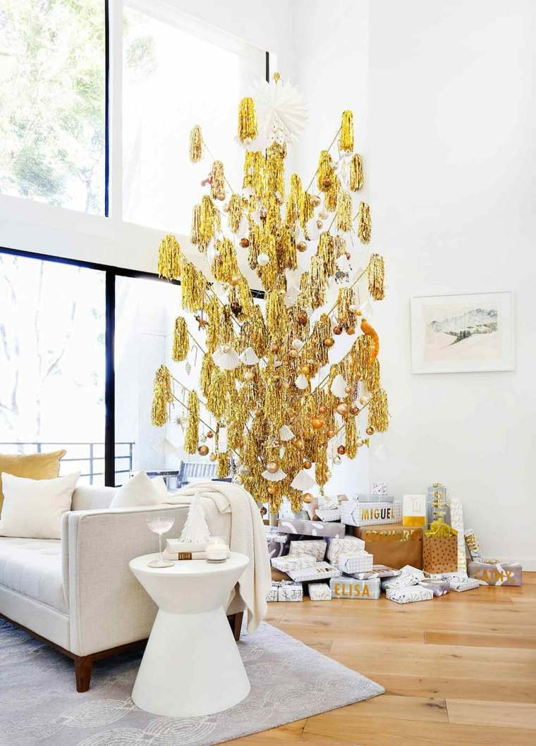 arbol-dorado-bello-estilo
