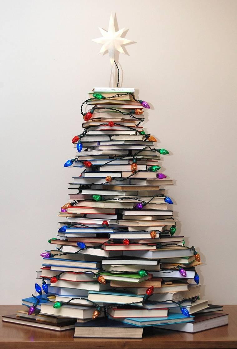 arbol-madera-navidad-ideas-libros