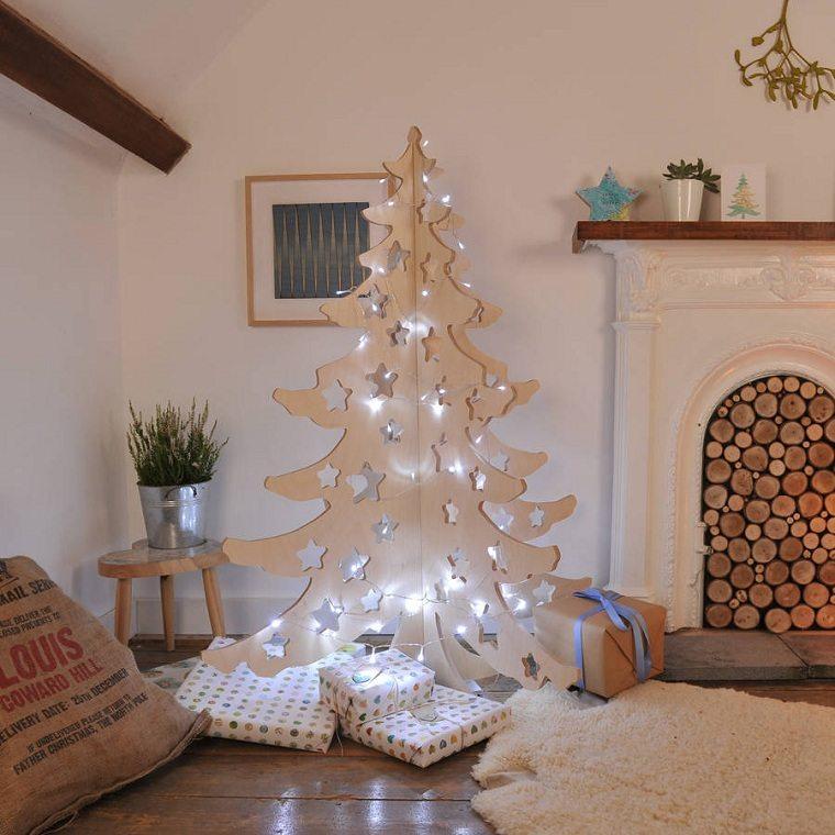 arbol-madera-navidad-ideas-modernas