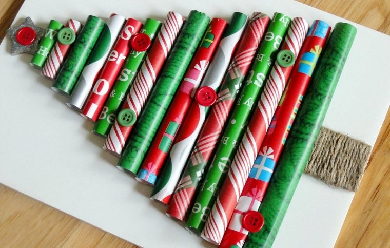arbol-madera-navidad-papel-regalo