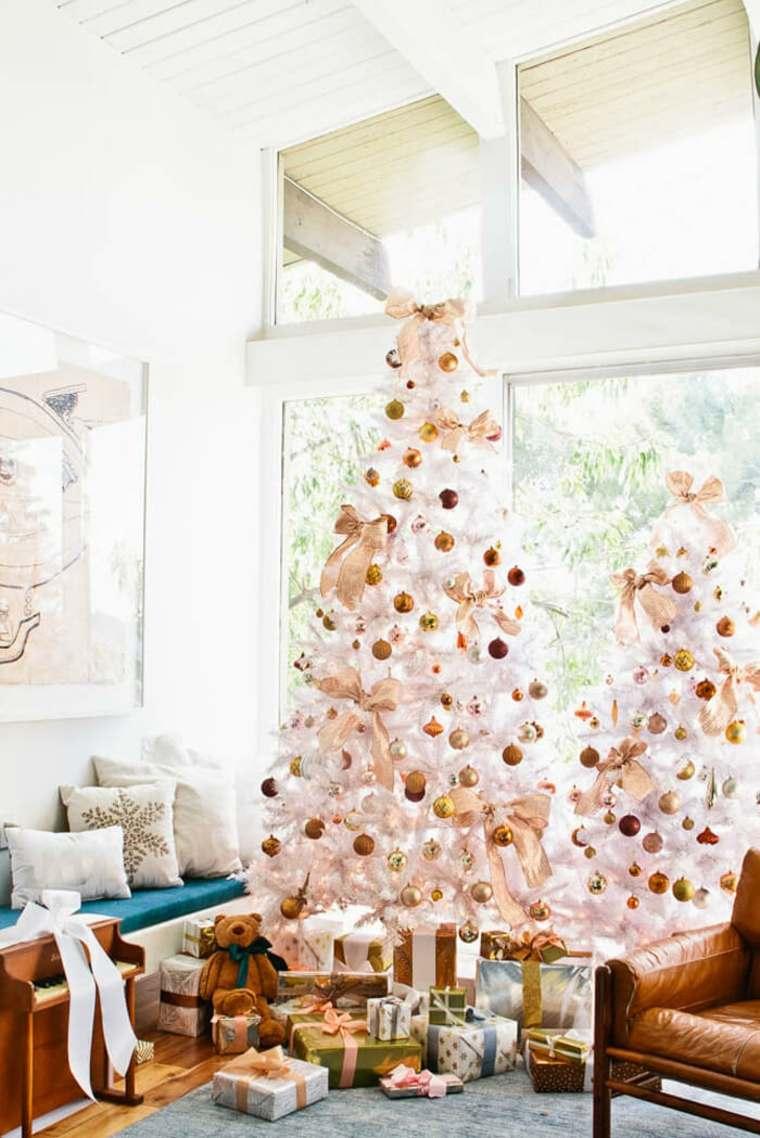 arboles-blancos-decoracion-dorada