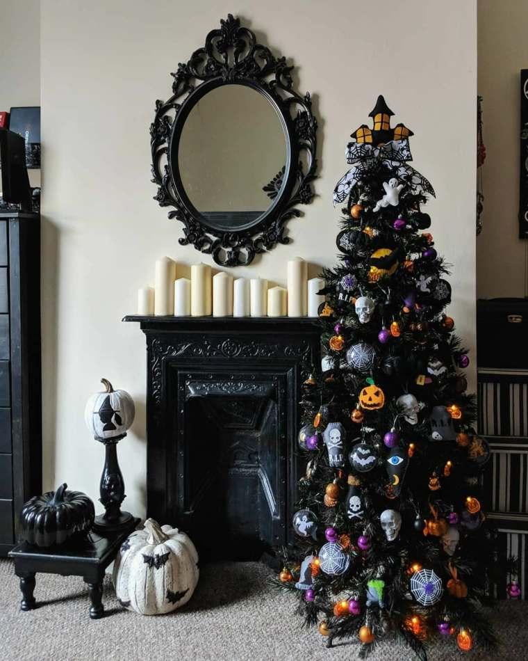 arboles-de-navidad-modernos-color-negro
