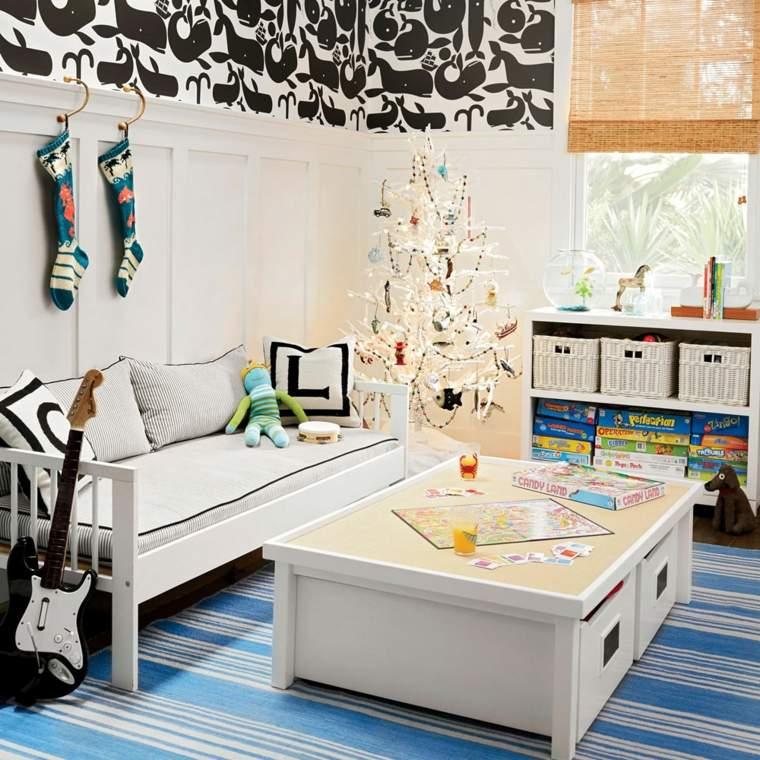 arboles-de-navidad-modernos-simple-cuarto
