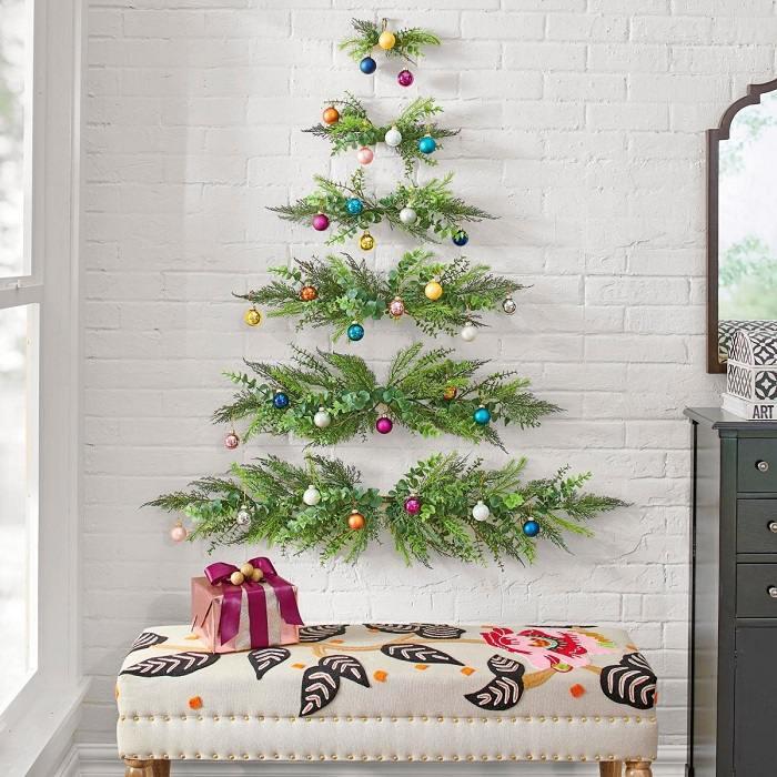 Arboles De Navidad Originales Y Creativos Para Las Paredes
