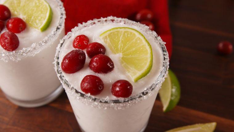 bebidas navideñas margaritas