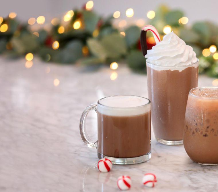 bebidas navideñas mochas