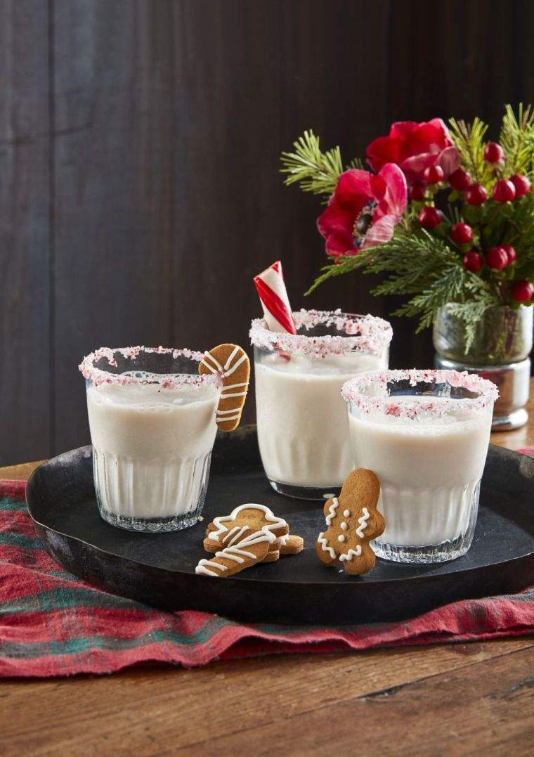 bebidas navideñas nieve