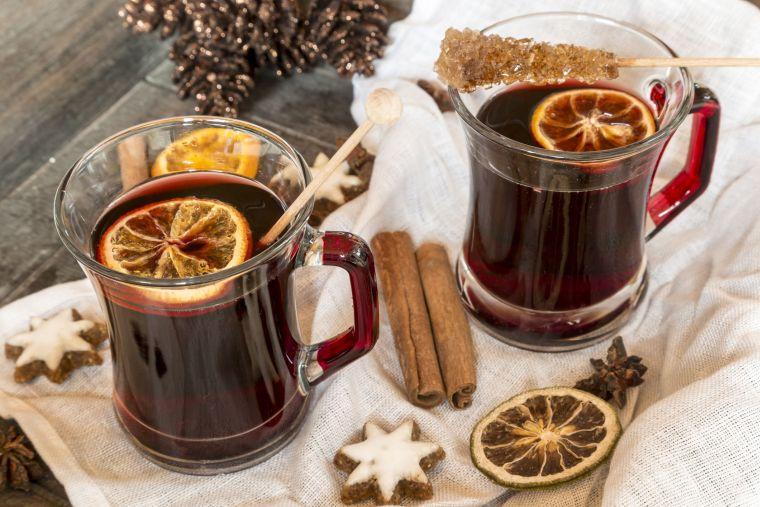 bebidas navideñas vino