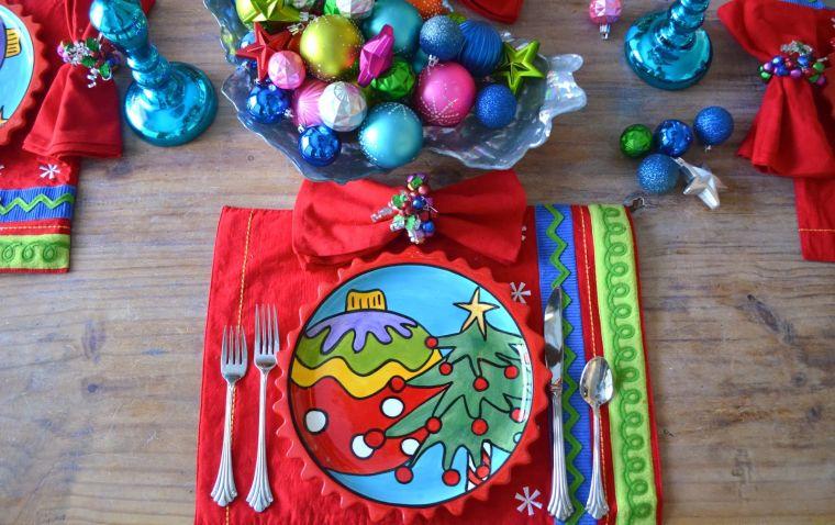 bolas de navidad alegre