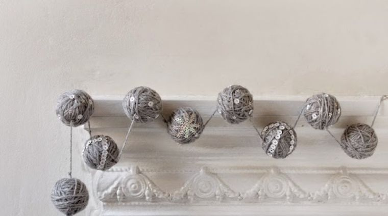 bolas de navidad artesania