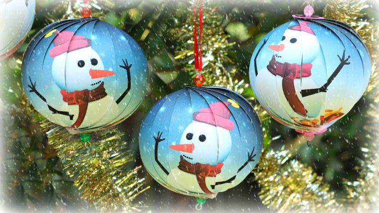 bolas de navidad azul