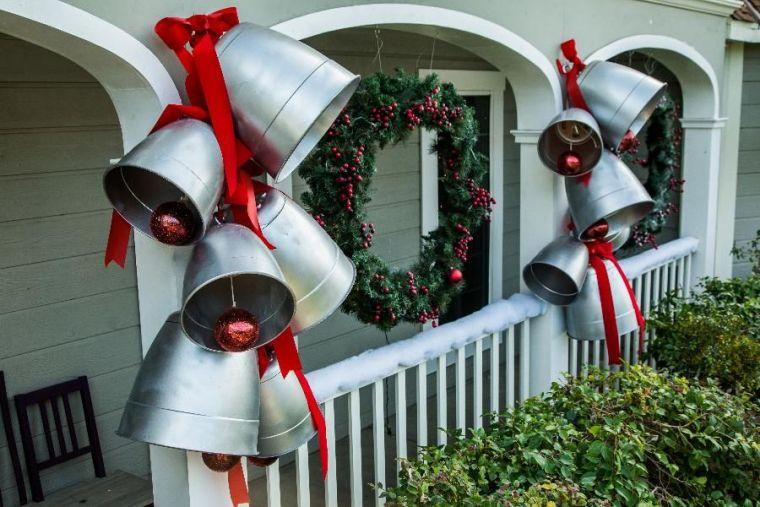 bolas de navidad campanas