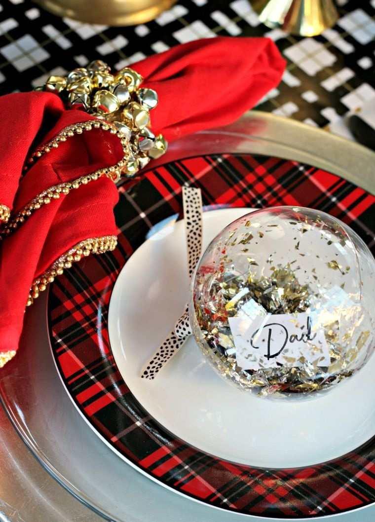 bolas de navidad cenas